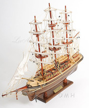 """Cutty Sark Tall Clipper Ship Wooden Model Boat Fully Assembled 22"""" L New... - $189.95"""