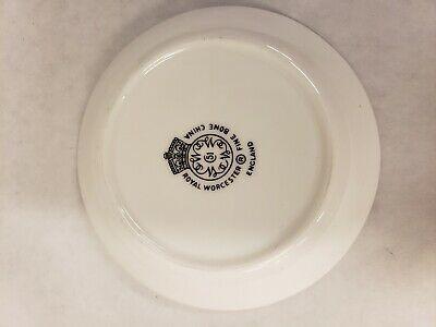 Vintage Royal Worcester Butter Pat Coaster Dish, Oval Pin Pot, and Bud Vase Set