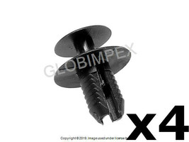 BMW MINI (1989+) Black Expanding Rivet (4) GERMAN + WARRANTY - $9.95