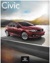 2015 Honda CIVIC brochure catalog US 15 EX EX-L SE HF Si HYBRID NGV - $6.00
