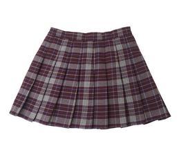 Brown Plaid Skirt Women Girls Pleated Plaid Skirt Plaid Brown Plaid Tennis Skirt image 2