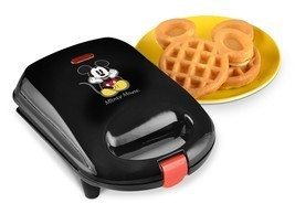 Disney DCM-9 Mickey Mini Waffle Maker non stick electric waffle maker - ₨1,693.36 INR