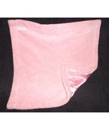 Elegantbaby Elegant Baby Security Blanket Lovey Solid Pink Satin - $24.73