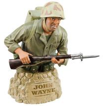 John Wayne Sands of Iwo Jima Limited Edition Hand Painted Ceramic Mini B... - $29.02