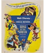 Song of the south Disney cult movie poster print #2 - $17.00