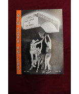 1957/58 New York Knicks Media Gude 31 Page Guide Madison Square Garden - $178.20