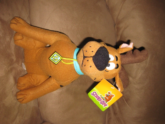 "Primary image for SCOOBY-DOO REINDEER SCOOBY New Licensed Plush NWT New With Tags 14"" Christmas"