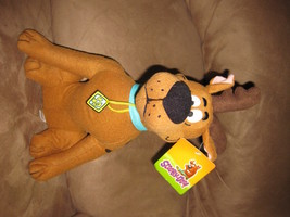 "SCOOBY-DOO REINDEER SCOOBY New Licensed Plush NWT New With Tags 14"" Chri... - $11.99"