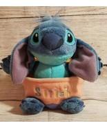 "Disney Plush Stitch in Easter Egg Stuffed Animal Beanie Lilo Pet 6"" - $14.54"