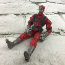 "G.I.Joe Cobra Ennemi Rouge Ninja 4"" Action Figurine Jouet Hasbro 2002 - $19.79"