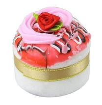 Set of 2 Artificial Cake Lifelike Cake Model Photography Props, Pink - $13.46