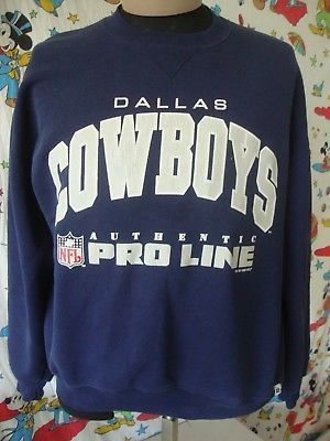 Vintage NFL Dallas Cowboys 90 s 1995 Pro Line Sweatshirt Sz XL a117bb0d2