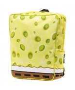 Spongebob Squarepants Suit Up Backpack With Removable Tie Yellow - $34.98