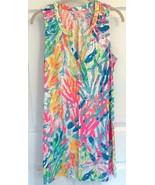 NEW SZ S LILLY PULITZER ESSIE DRESS MULTI SPARKLING SANDS - $69.29