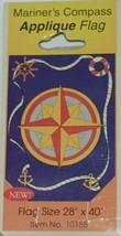 Evergreen Enterprises Inc 10158 Mariners Compass Applique Flag image 2