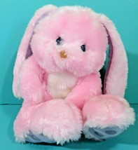 "Vintage Animal Fair Bunny Rabbit Pink Purple Floppy Ears 8"" Plush Stuffe... - $33.95"