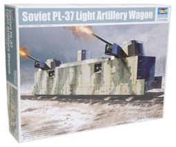 Trumpeter Soviet PL-37 Light Artillery Wagon Model Kit - $125.85