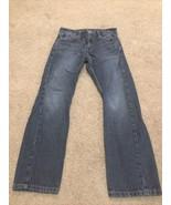 LEVIS 514 Men's Blue Jeans Reg Fit Straight Leg Lower Rise 29x30 (true) ... - $17.82