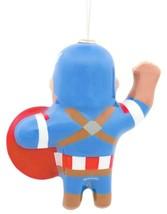 Hallmark Marvel Captain America Decoupage Shatterproof Christmas Tree Ornament image 2