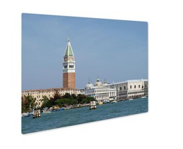Metal Panel Print, Seaview Of Piazzettsan Marco And Doges Palace Venice - $112.44+