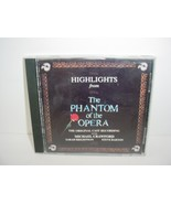 Highlights from the Phantom of the Opera CD Music - $5.84