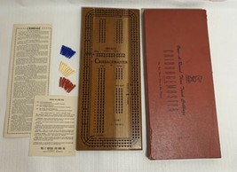 DRUEKE Model 1950 CribbageMaster 3 Track Cribbage Game - $60.00