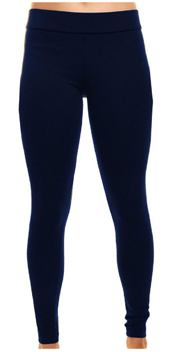 Matty M Ladies' Legging, Thicker Material, Wide Waist Band image 3