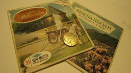 1950s View Master Reel Set of Two Shenandoah Williamsburg - $10.00
