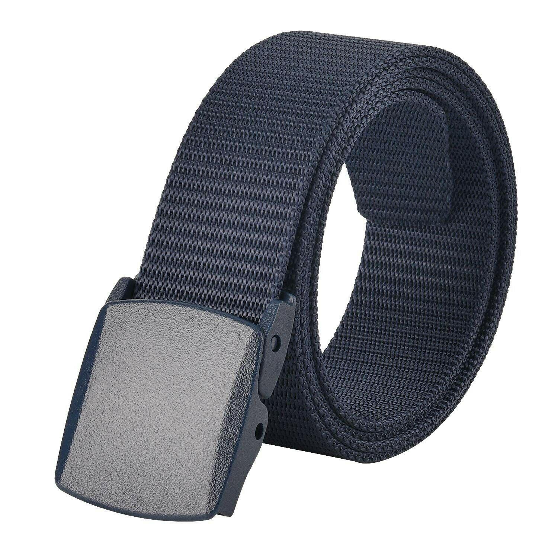 JASGOOD Men Tactical Belt Military Style Webbing Riggers Nylon Belt 1.5/'/' Wide