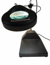 Industrial Vintage Adjustable Magnifying Desk Lamp Magnifier Light Magnify image 1