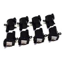 "Chevy GMC GM LS LSX LS1 LS2 LS3 LS6 8 Coils & 8"" 8mm Red Spark Plug Wires D585 image 2"