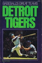 Baseball's Great Teams Detroit Tigers 1975 Softcover Book Joe Falls - $19.79