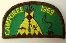Tepee Camporee 1969 Boy Scouts Patch Vintage - $11.39