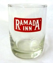Ramada Inn Guest Glass Drinking Tumbler Clear Glass Hotel Motel Collectible - $19.57