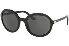 Prada Sunglasses PR09VS 1AB5S0 Black / Grey Lens 56mm Authentic  - $154.23