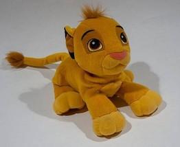 "DISNEY THE LION KING SOFT PURRING SIMBA PLUSH  2002 STUFFED ANIMAL 10"" H... - $24.74"