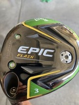 Callaway LH Epic flash 3 wood 15degree with Senior Flex and head Cover⭐️ - $158.02