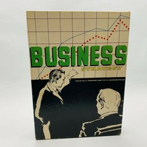 Business Strategy Board Game Bookcase Game Avalon Hill 808 Made in USA 1973 - $14.99
