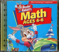 PC/Mac CD-Rom Learning Software - Reader Rabbit's Math - Ages 4-6 - $2.96