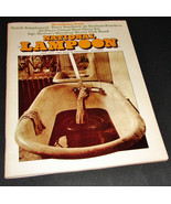 NATIONAL LAMPOON Magazine Nov 1972 DECADENCE w/ Meat Chess Cut-Out Piece... - $37.99