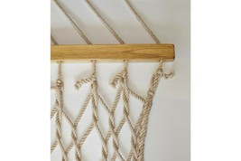 Patio Seating Furniture in Two Person Polyester Rope Hammock Comfy Hangi... - $88.10