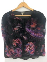 Urban Outfitters Ecote Velvet Top Shirt S Small Sleeveless - $14.85