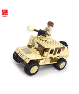 JIE-STAR New Style Children'S Educational Toy Military Hummer Car - $12.22