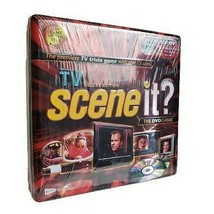 Scene it: The DVD Game Deluxe Edition Trivia Game Tin Box 2005 NEW - $21.29