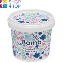 Meadow Fresh Bath Powder 365 Ml Bomb Cosmetics Petitgrain Clary Sage New - $11.93