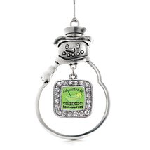Inspired Silver I'd Rather Be Drinking Margaritas Classic Snowman Holiday Decora - $14.69