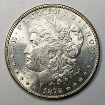 1878 7TF Rev 78 MORGAN SILVER $1 DOLLAR Coin Lot# 519-15