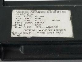 DANAHER MOTION AKM22E-ESCNR-02 SERVOMOTOR 320VDC, 2.7 ARMS, 8000RPM image 4