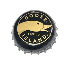 Goose Island 2017 Bourbon County Stout Beer Bottle Crown Cap Chicago Ill... - $6.65