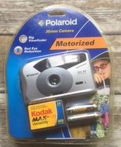 Vintage Polaroid 252 BV Motorized 35mm Film Photography Compact Photo Ca... - $74.24